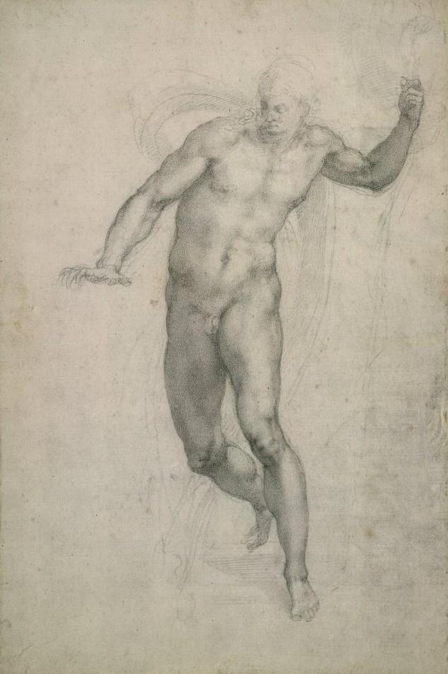 Michelangelo Buonarroti. The Risen Christ