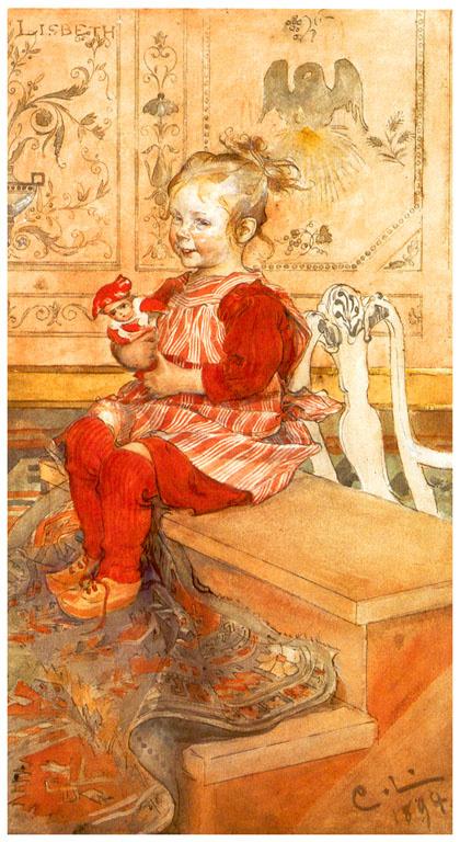 Carl Larsson. Lisbeth