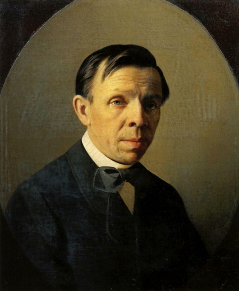 Алексей Михайлович Колесов. Портрет С. К. Зарянко