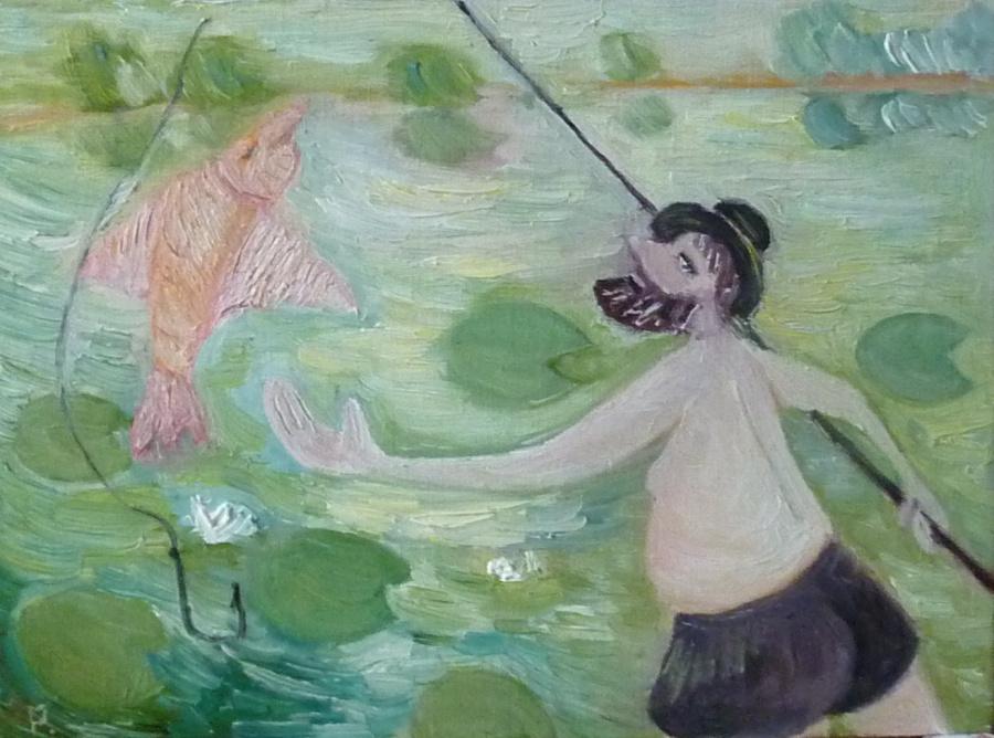 Svyatoslav Ryabkin. Summer Fishing Summer Fishing