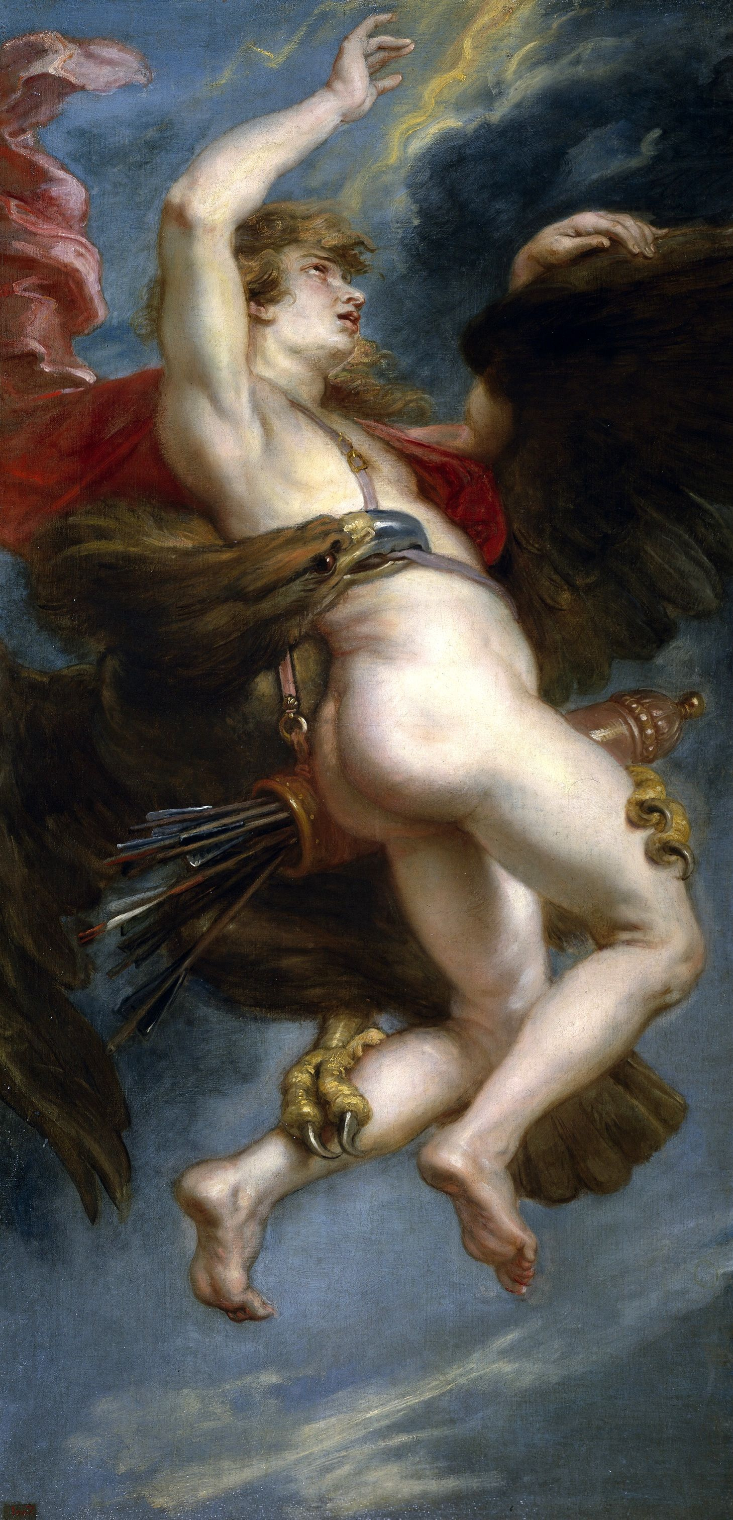 Peter Paul Rubens. The Abduction Of Ganymede