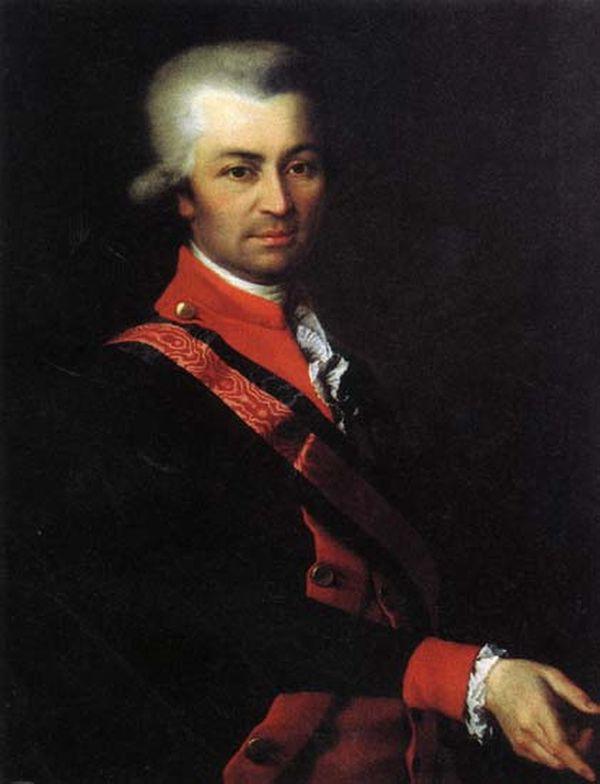 Dmitry Grigorievich Levitsky. Mikhail Sergeyevich Potemkin