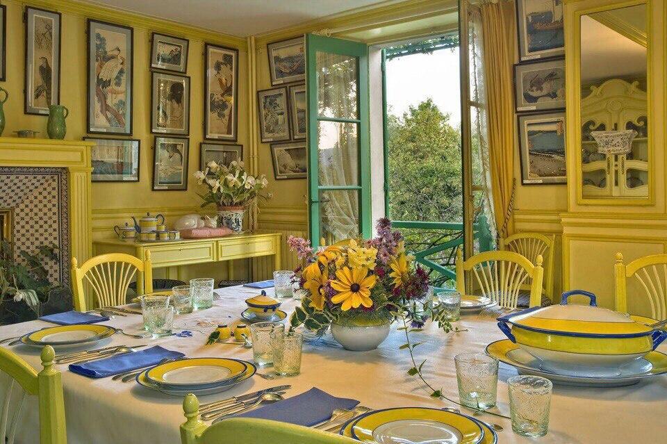 Unknown artist. Photos of Claude Monet's house