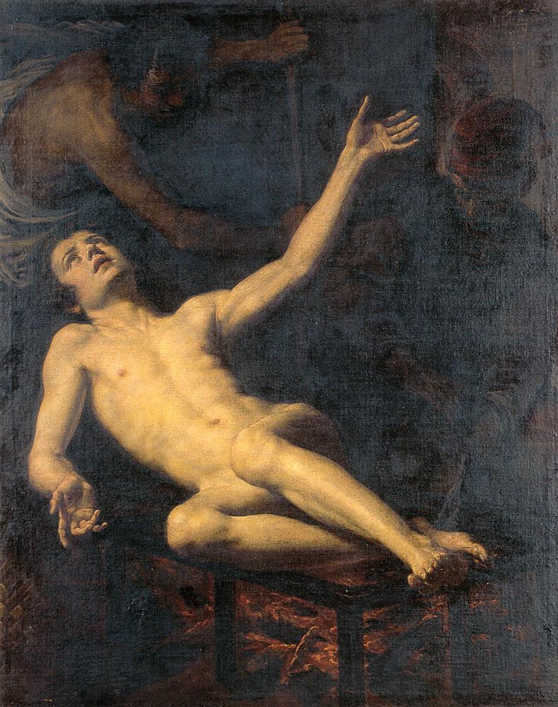 Якопо Виньяли. Мученичество Святого Лаврентия
