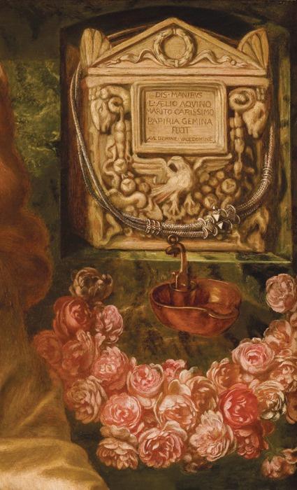 Данте Габриэль Россетти. Римская вдова. Фрагмент II