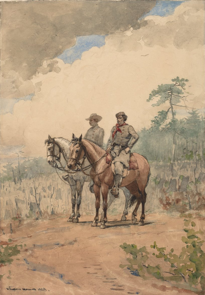 Winslow Homer. Two trackers