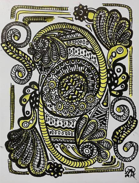 Larissa Lukaneva. Zen Doodling