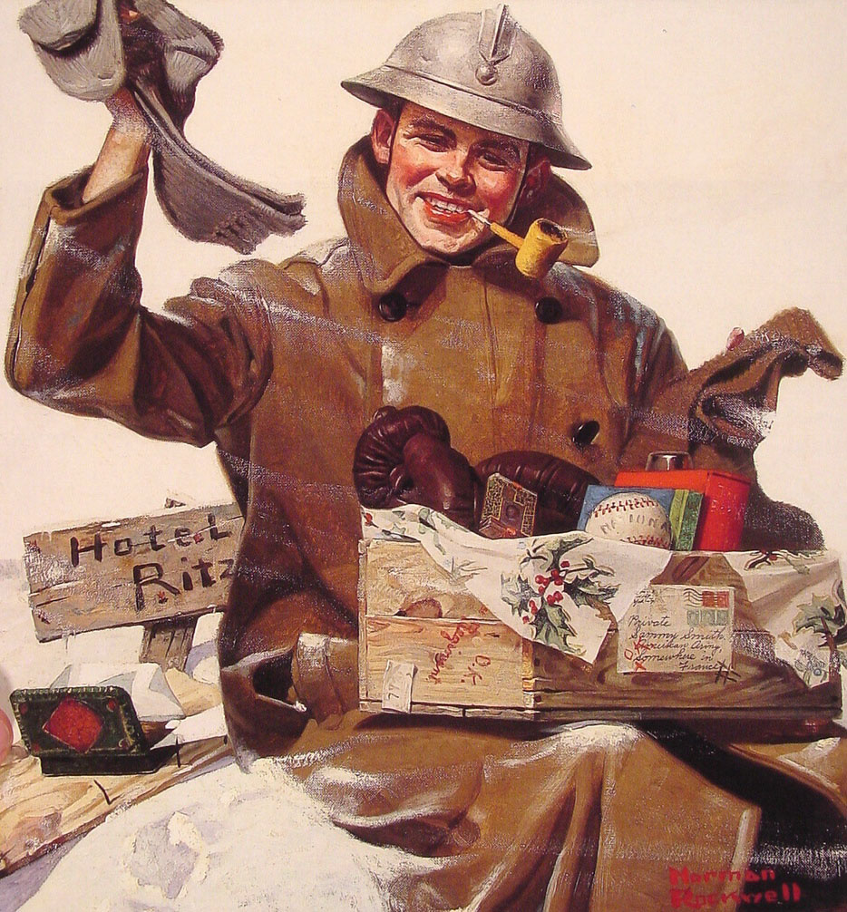 They remembered me by Norman Rockwell: History, Analysis & Facts