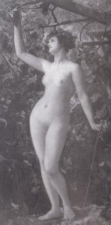 Генриетта Рей. Обнаженная девушка