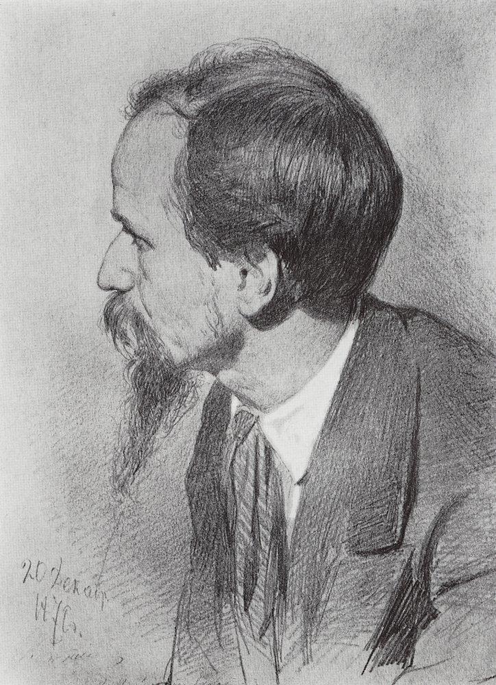 Илья Ефимович Репин. Портрет П. П. Чистякова