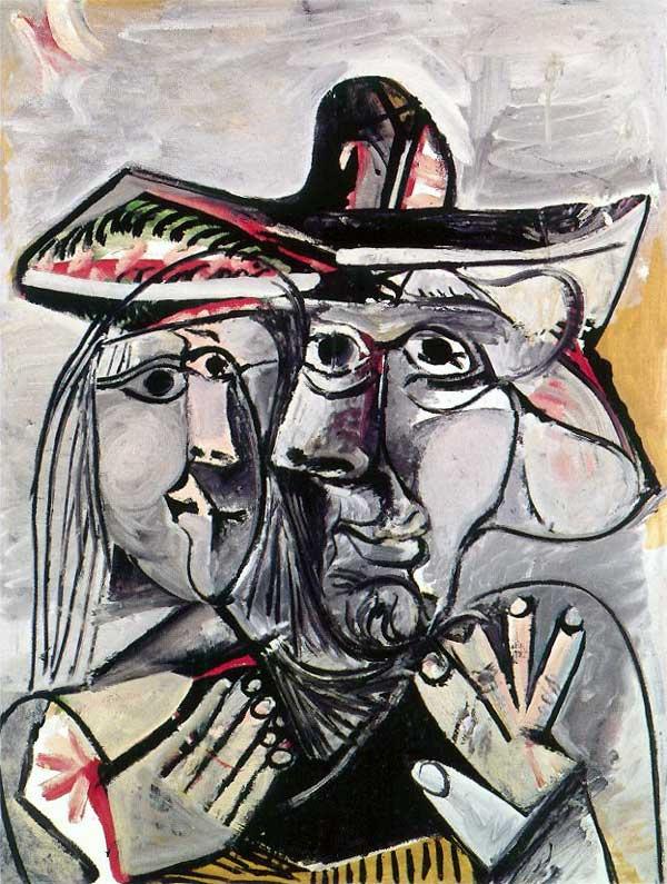 Пабло Пикассо. Мужчина и женщина