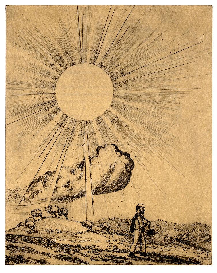 Артур Гейсерт. Северный ветер и Солнце