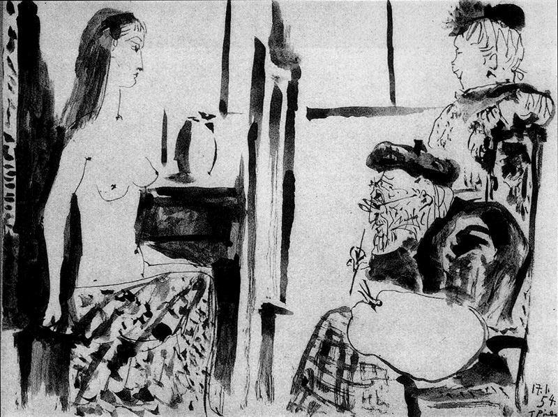 Пабло Пикассо. Сюжет 140