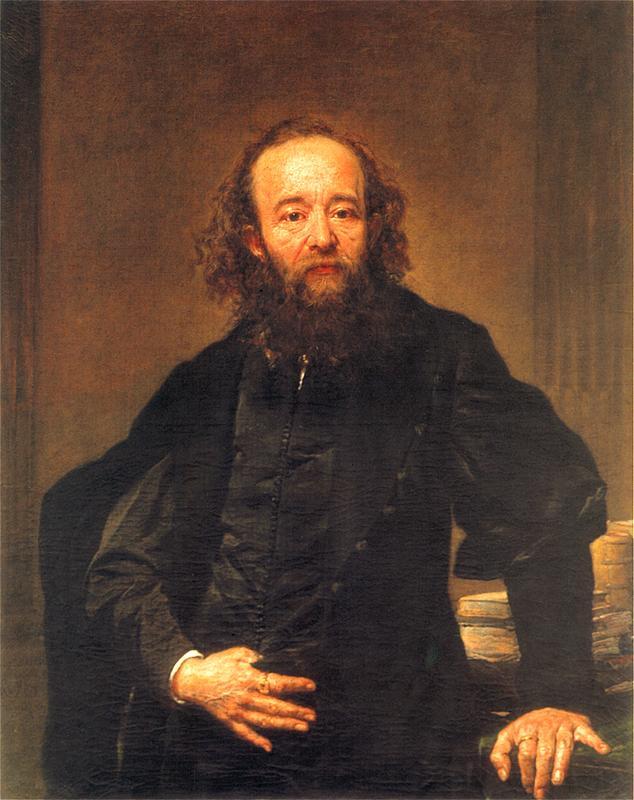 Ян Матейко. Портрет Леонарда Серафиньского