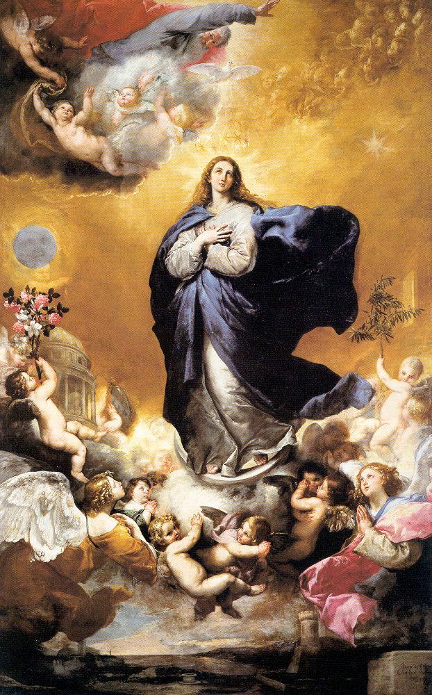 Хосе де Рибера. Богородица