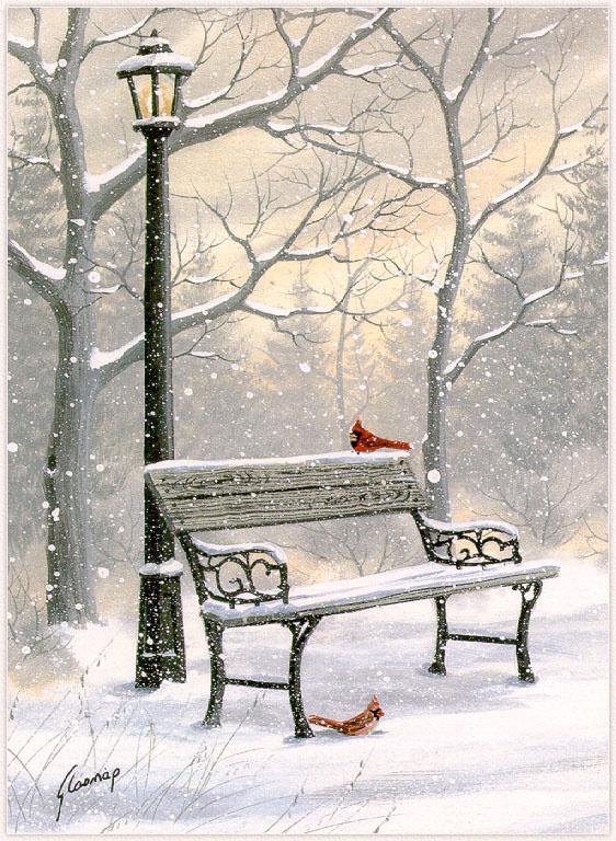 Кэти Гласнап. Северный кардинал