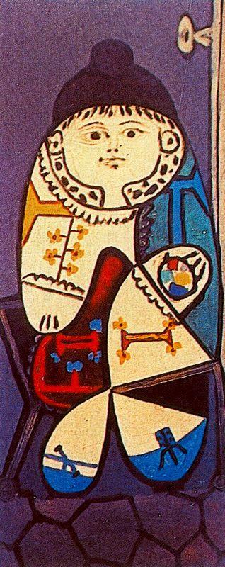 Пабло Пикассо. Клод в польском костюме