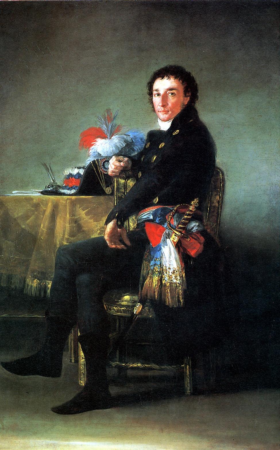 Francisco Goya. Ferdinand Gimage French Ambassador in Spain