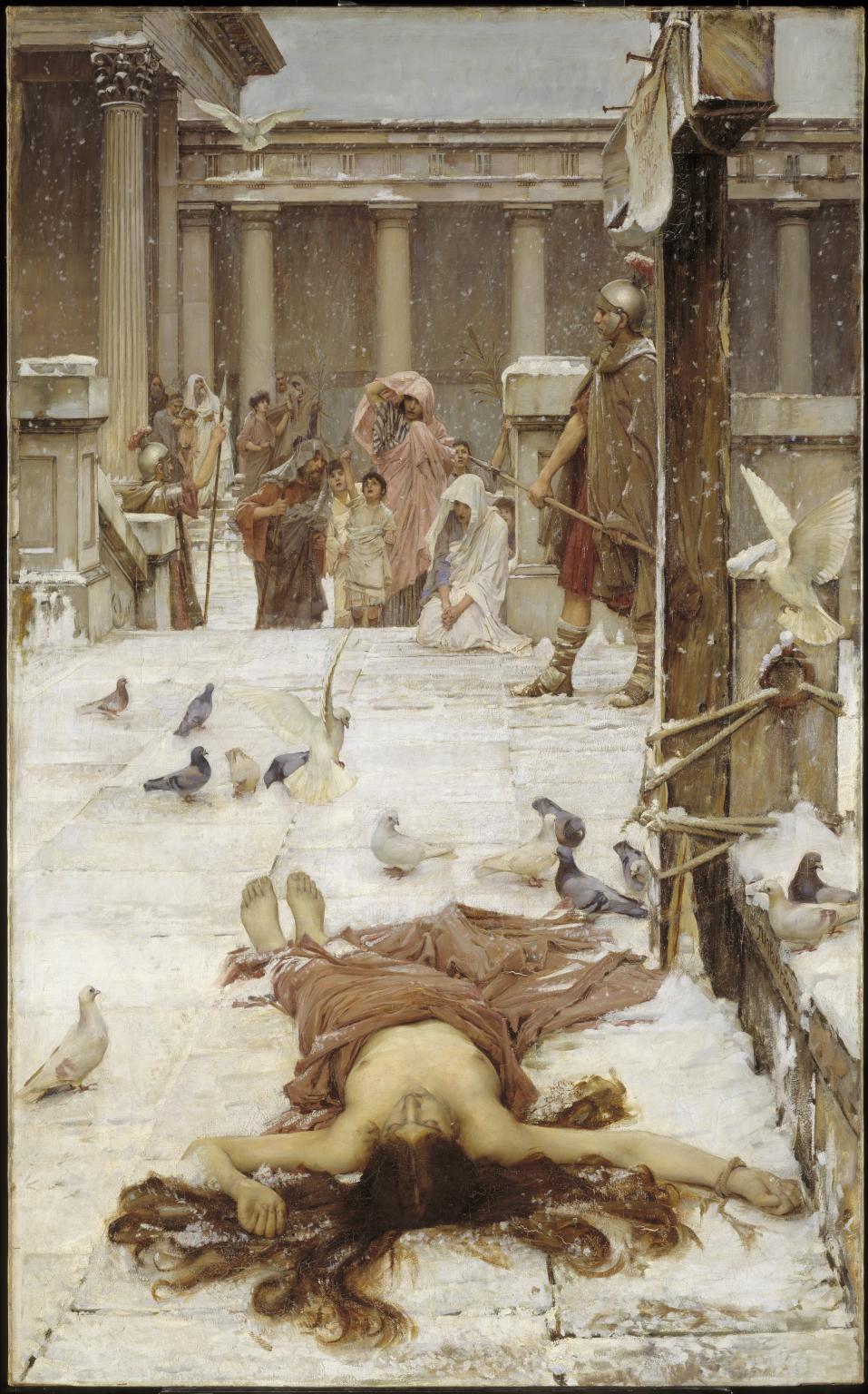 John William Waterhouse. Saint Eulalia