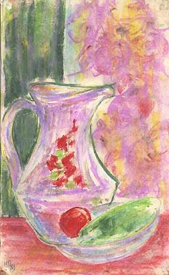 Natalya Garber. Purple jug