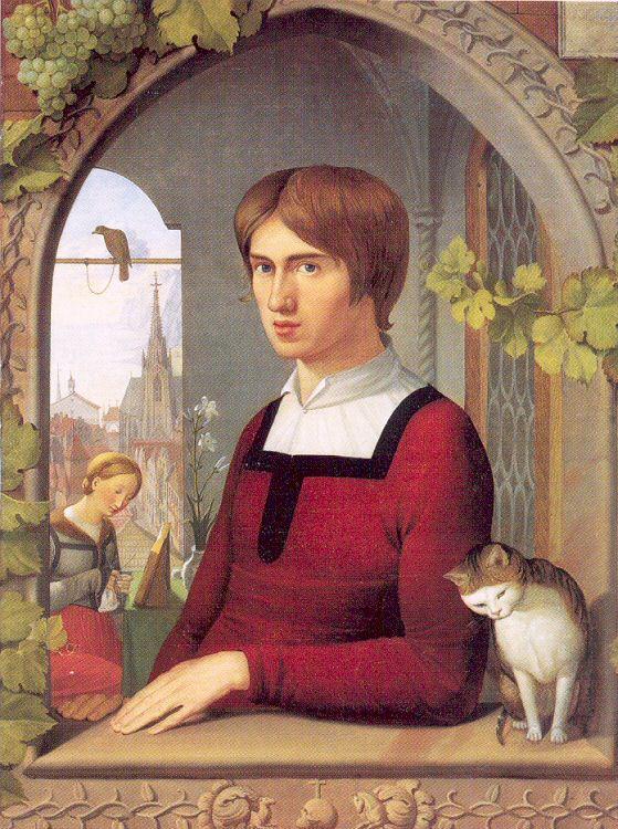 Иоганн Фридрих Овербек. Портрет