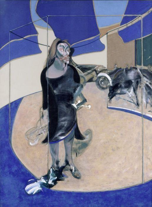 Фрэнсис Бэкон. Портрет Изабель Росторн, стоящей на улице в Сохо