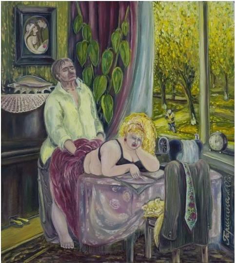 Irina Garshina. Before tea