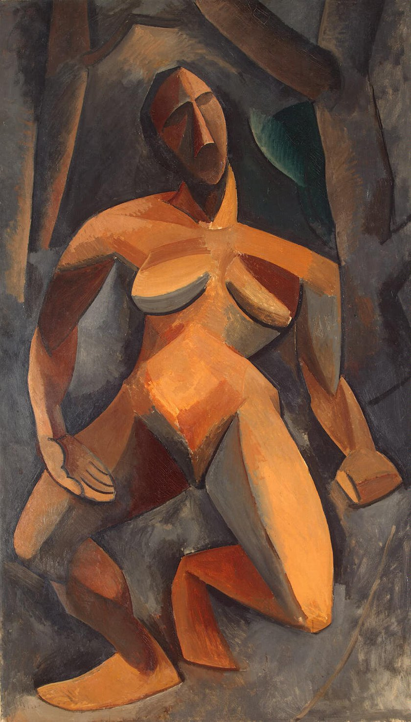 Pablo Picasso. Dryad (Nude in forest)