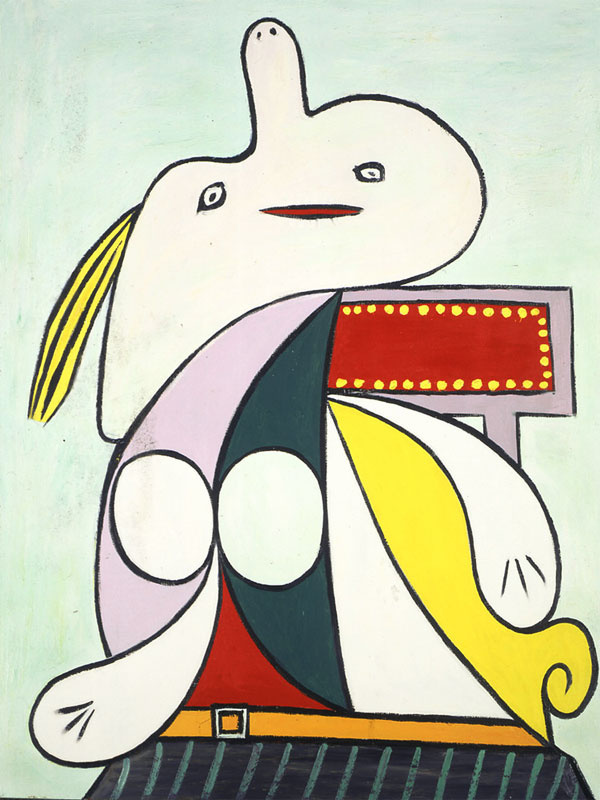 Пабло Пикассо. Желтый пояс (Мари-Терез)