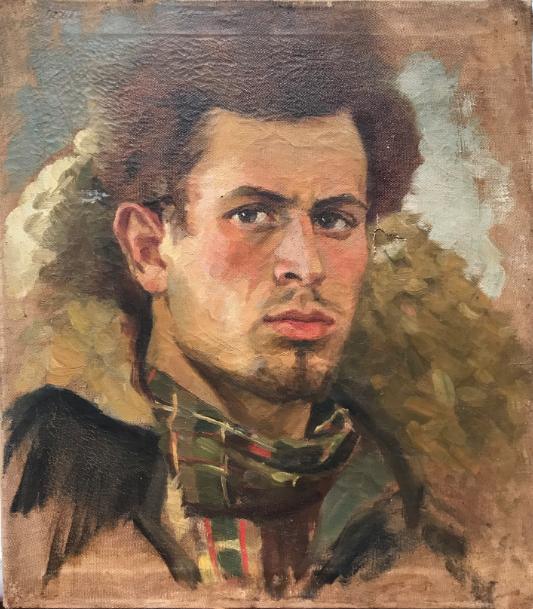 Victor Yakovlevich Tolchinsky. Self-portrait