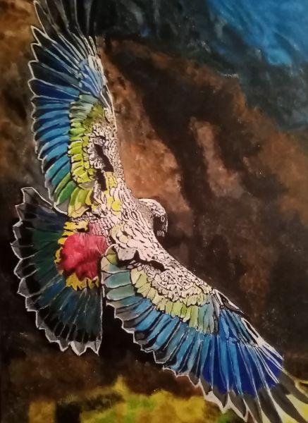 Nadezhda Konstantinovna Kononova. Parrot flight