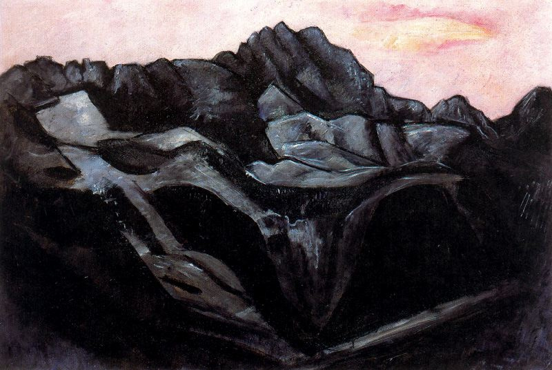 Marsden Hartley. Cloudy day