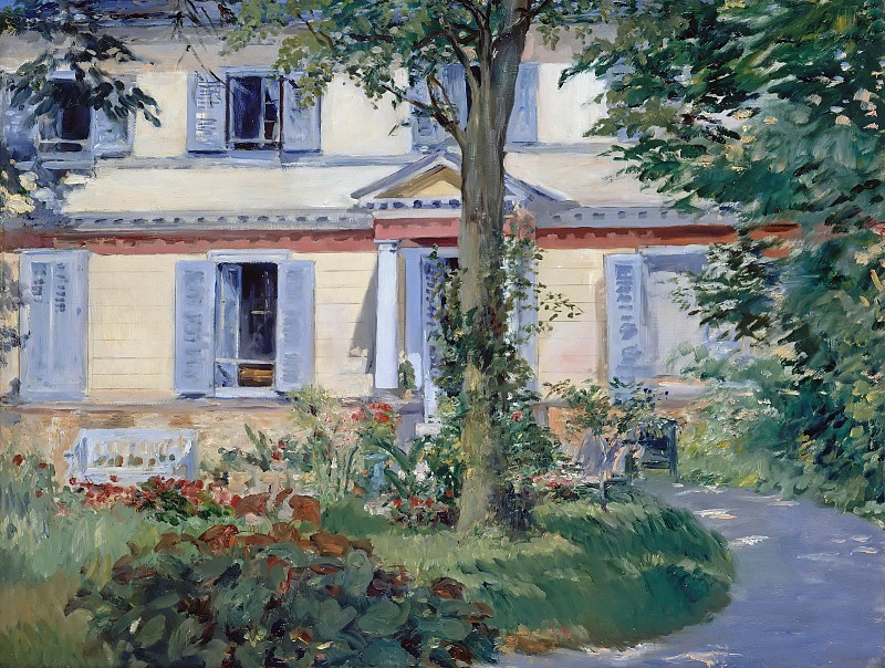 Edouard Manet. House in RUIE