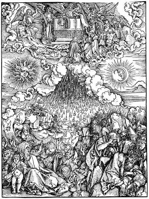 Альбрехт Дюрер. Снятие шестой печати