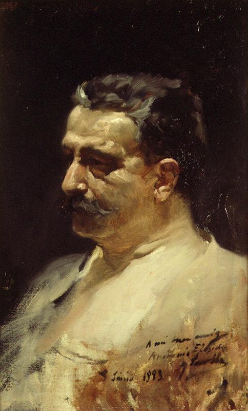 Хоакин Соролья (Соройя). Портрет Антонио Элегидо