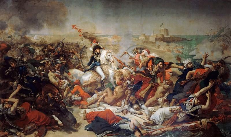 Антуан-Жан Гро. Битва при Абукире, 25 июля 1799