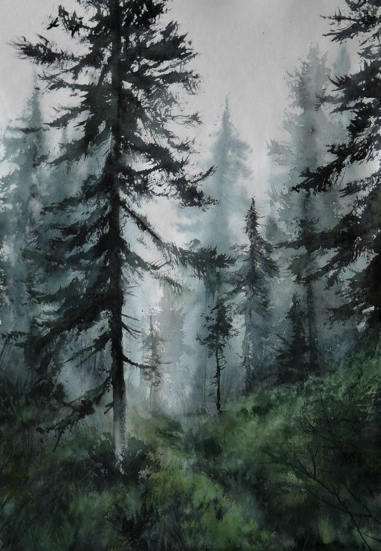 Olesya Voronina. Fog