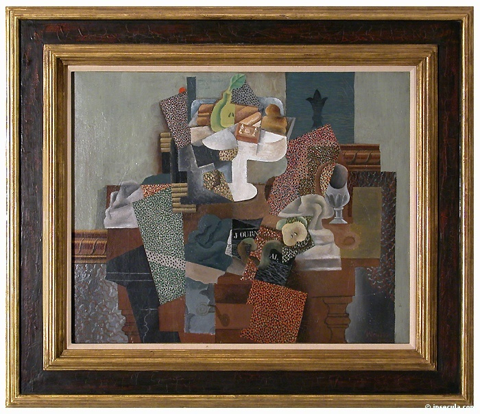 Пабло Пикассо. Натюрморт с фруктаи