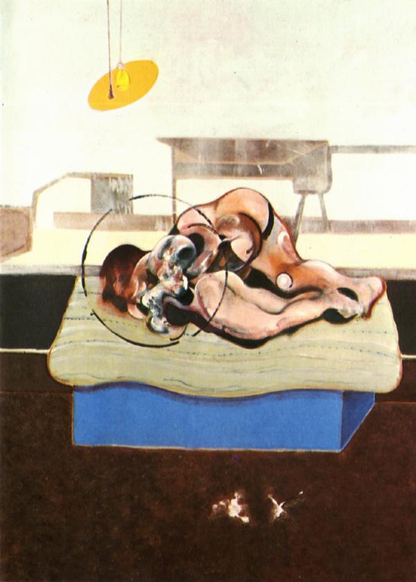 Фрэнсис Бэкон. Три этюда фигур на кроватях