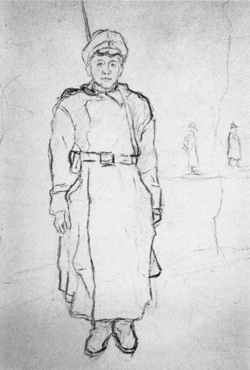 Александр Александрович Дейнека. Новобранец