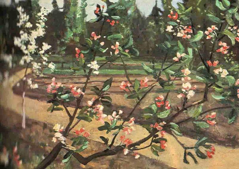 Александр Александрович Дейнека. Цветущая яблоня