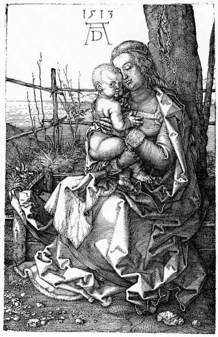 Альбрехт Дюрер. Мадонна под деревом