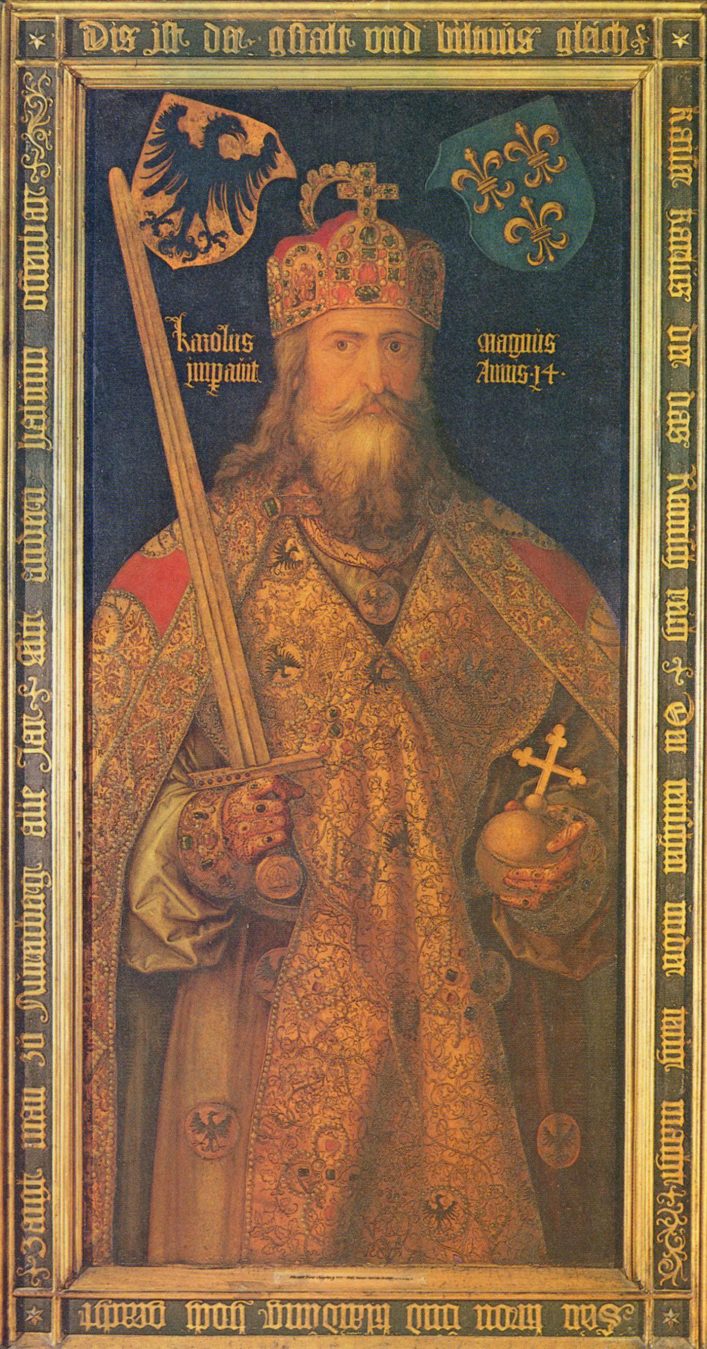 Albrecht Durer. The Emperor Charlemagne