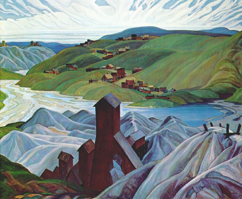 John Carmichael. Northern silver mine