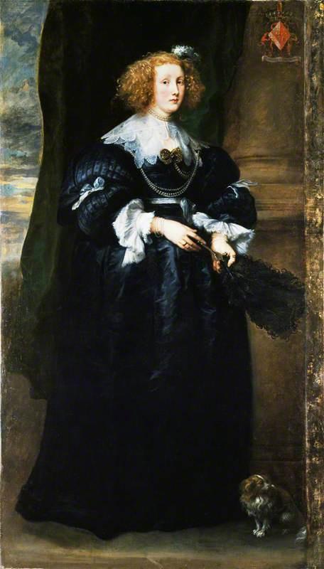 Антонис ван Дейк. Портрет Мари де Раэ