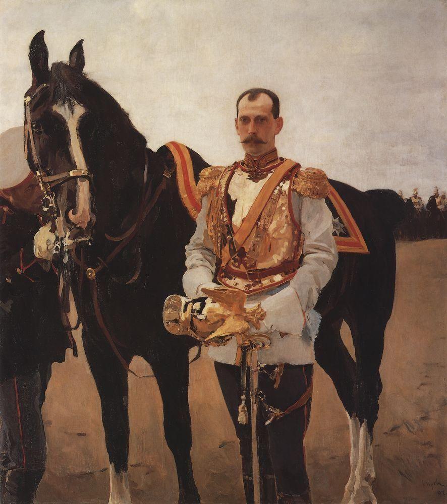 Валентин Александрович Серов. Портрет великого князя Павла Александровича
