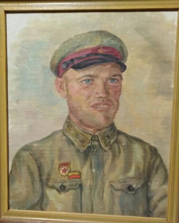 Natalia Filippovna Kotlyarova. Portrait of B.K.Matyushov