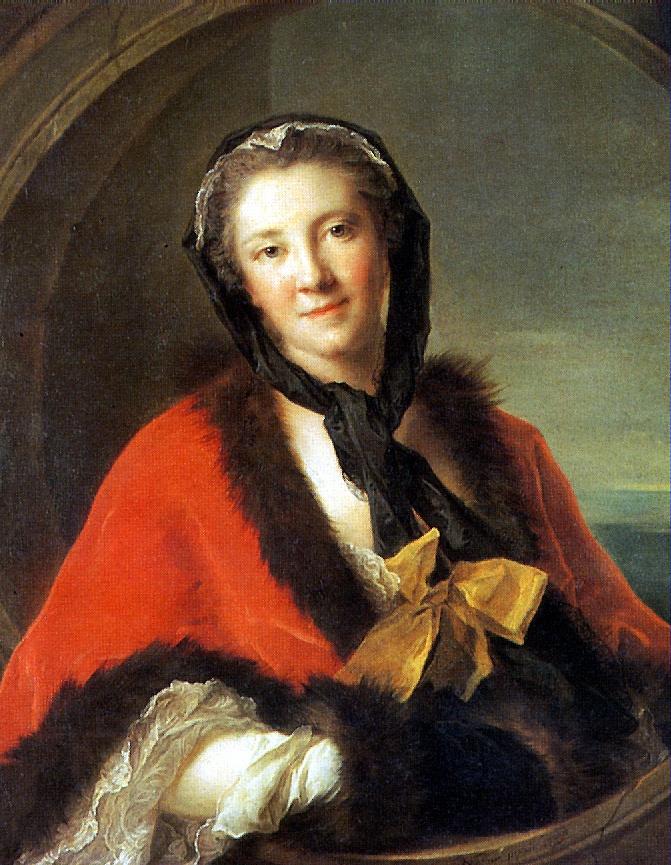 Жан-Марк Наттье. Графиня Тессэн, жена шведского посланника в Париже