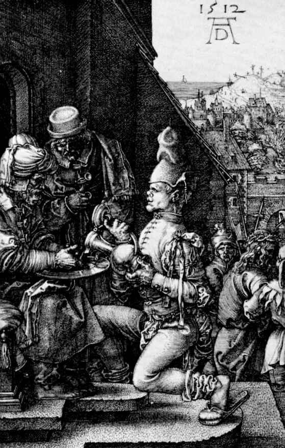 Альбрехт Дюрер. Пилат умывает руки