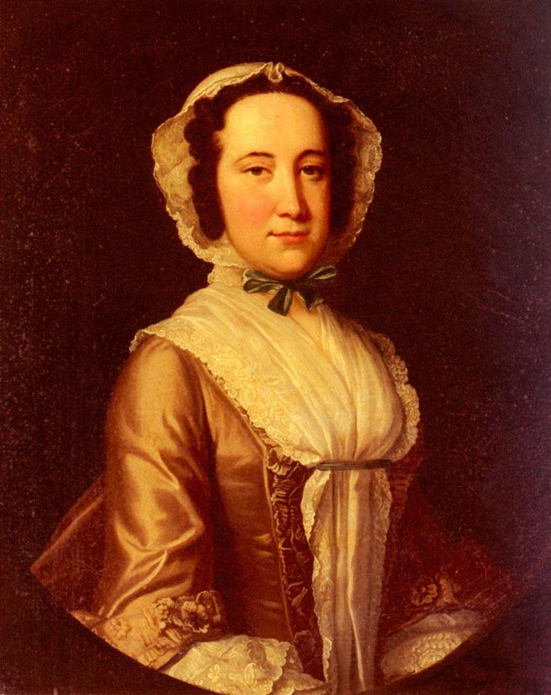 Thomas Hudson. Portrait of a lady